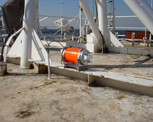 File Image: the El Faro's VDR as it looked installed on the vessel.