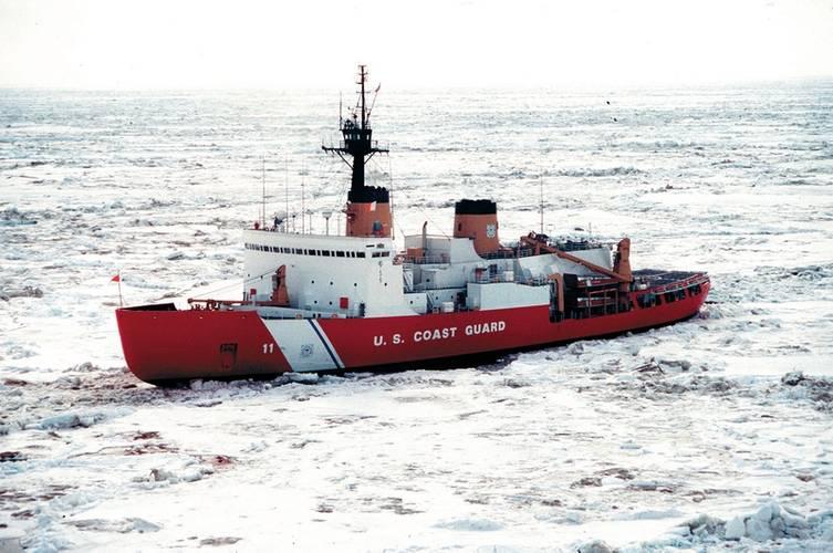 File Image: The U.S. coast Guard's POLAR STAR icebreaker. CREDIT: USCG