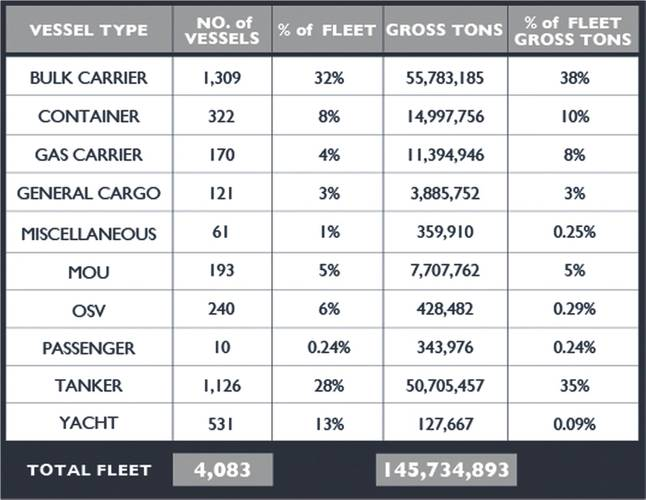 Fleet types (Image: IRI)