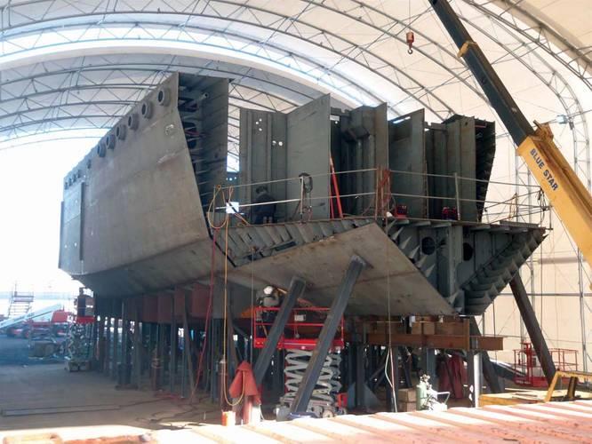 Foss Arctic Class Tug hull
