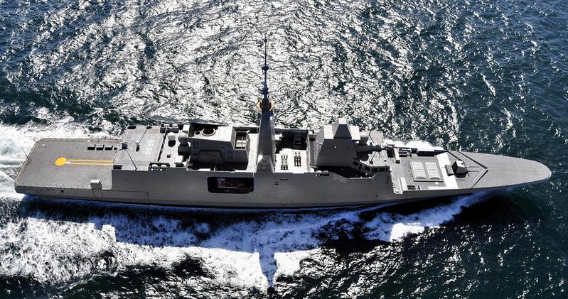 FREMM frigate Aqiutaine (Photo: DCNS)