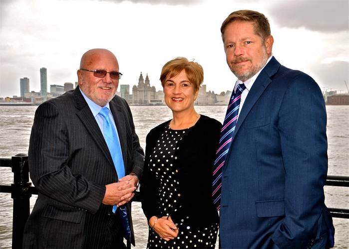 From left to right: Commercial Sales Manager Grahame Nelson, Accounts Director Carolyn Flynn and  MD Alex Flynn (Photo: Flynn Refrigeration)