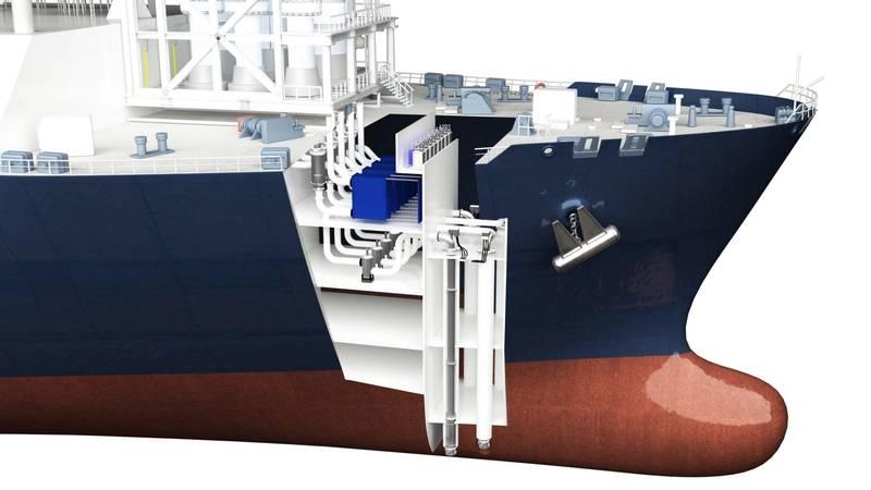 FSRU Framo pumping system illustration (Image: Framo)