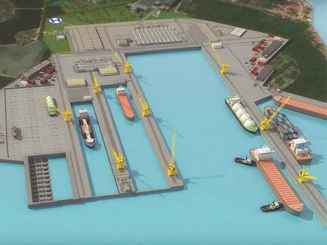 Full view of the EDPI ship repair complex. (Image: BBDC)