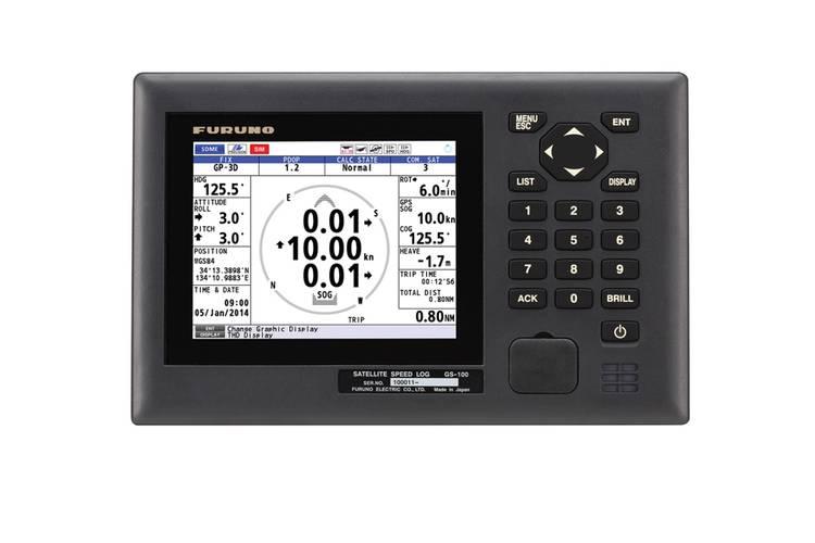 Furuno GS100 Satellite Speed Log (Courtesy Furuno USA)