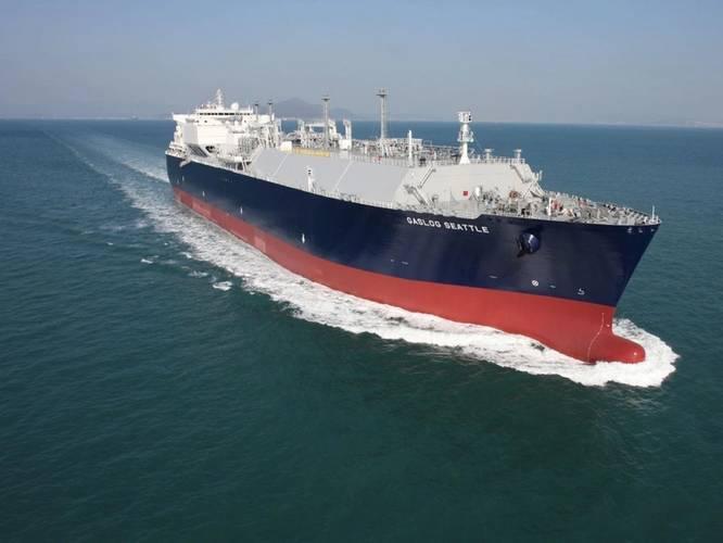 GasLog LNG Tanker (Image: GasLog)