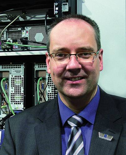 """G&D CEO Roland Ollek: """"In the shipping industry KVM equipment can be applied in the most versatile ways."""""""