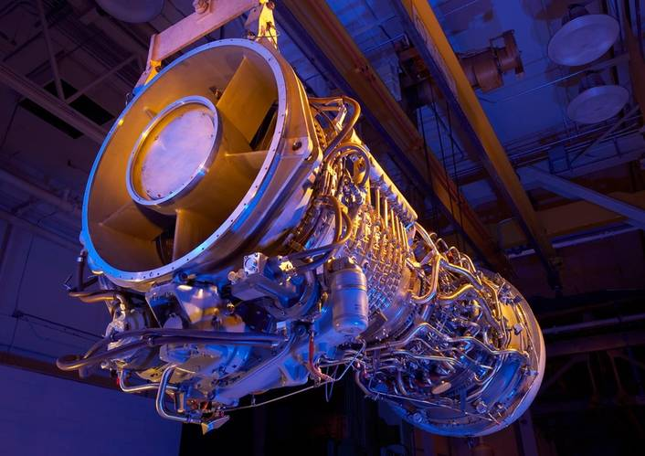 GE LM2500+G4 gas turbine (Photo: GE)