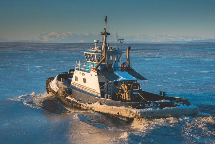 Glacier Wind in Cook Inlet (Image courtesy of Foss Maritime)