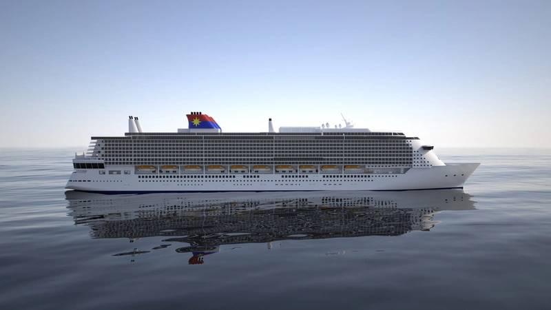 """Global Class"" cruise vessel (Image: Evac)"