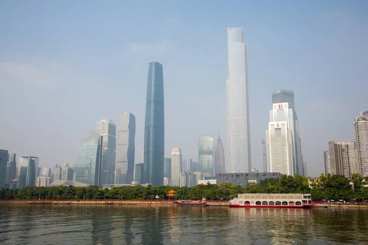 Guangzhou is situated in one of the world's fastest growing metropolitan areas (Photo: Stena Bulk)