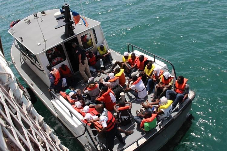 haitian migrants rescued at sea repatriated