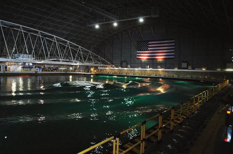 The MASK facility underwent modernization at Naval Surface Warfare Center, Carderock.