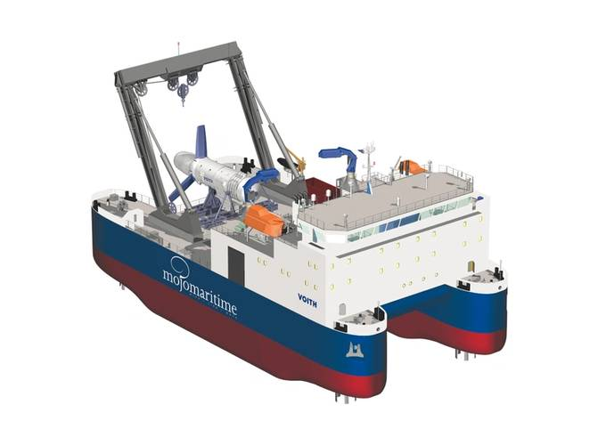 High Flow 4 construction vessel