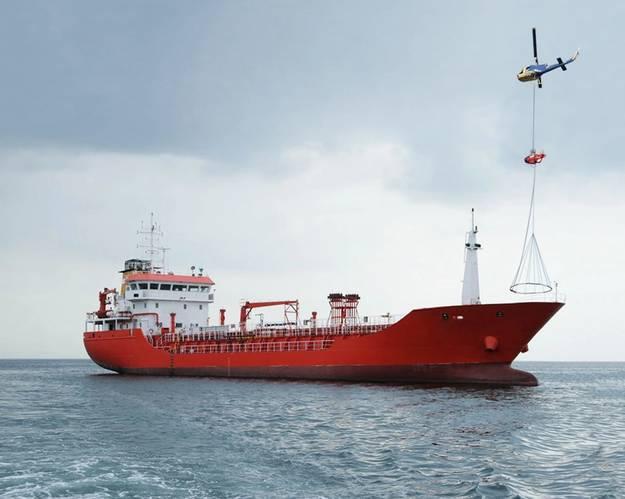 Image of ShipArrestor deployment (Photo: Miko Marine)
