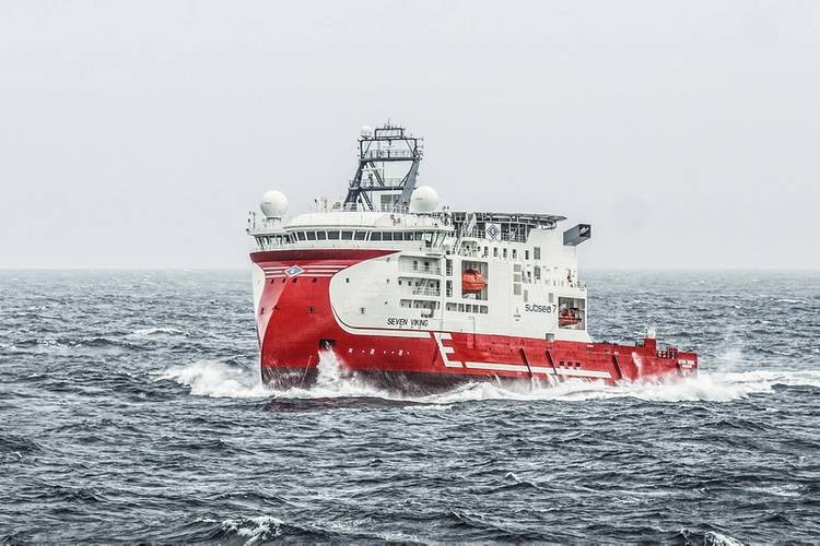 Incorporating the X-Bow design, the inspection, maintenance and repair vessel Seven Viking was built for Subsea 7 and Eidesvik and entered service in 2013.