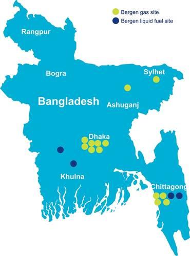 Installed Rolls-Royce Powerplants in Bangladesh. (Photo: Rolls-Royce)
