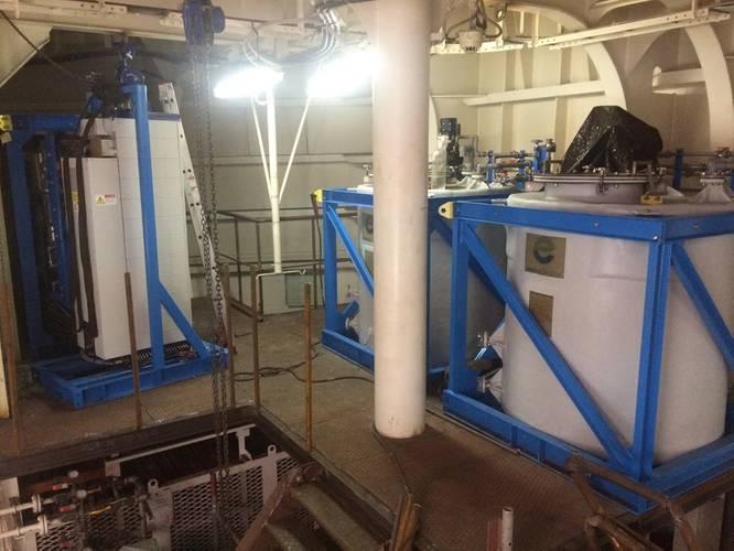 InTank Bulk Chemical and DeChlor Modules. Photo courtesy SciencoFAST