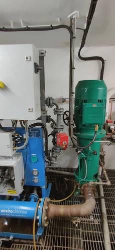 InTank Dosing Module and Circulation Pump. Photo courtesy SciencoFAST