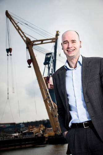 Jan Paul van den Bos  Barge Master co-founder and co-director