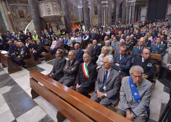 Jolly Nero 1st anniversary mass in Genoa (Courtesy Apostleship of the Sea)
