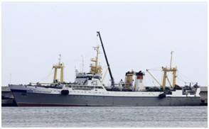 JSC Pilenga's Ostrov Sakhalin, a BATM-class supertrawler (Photo: Naust Marine)