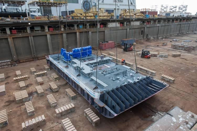 Keel laid for Seabourn Ovation Photo Fincantieri