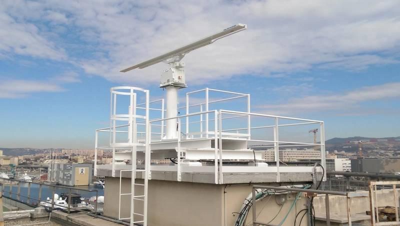 Kelvin Hughes SBS Radar Marseille Fos (Photo: Kelvin Hughes)