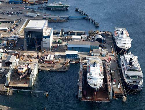 Ketchikan Shipyard, Vigor Alaska (Photo courtesy Vigor Industrials)