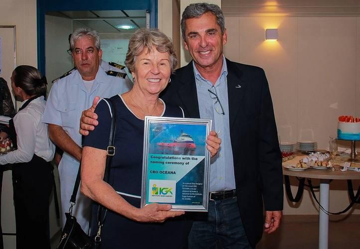 Lady sponsor Alice Kuerten is mother of Guga Kuerten and deeply involved in the Instituto Guga Kuerten (Photo: Ulstein)