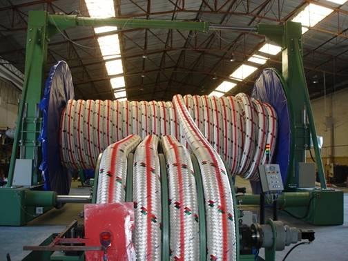 Lankhorst Gama 98 rope manufacture