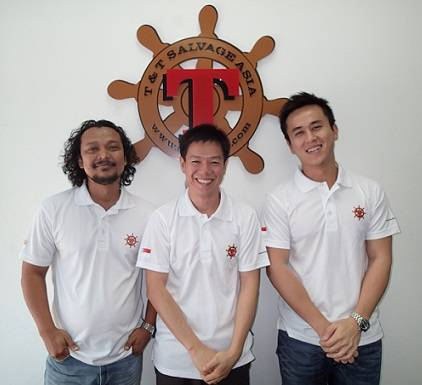 Left to right: Hussain Shah, Lee Hiok Liang and Alex Ang Yew Boon