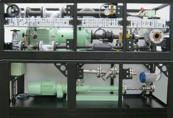 LEMAG's Pre-mounted emulsion and water supply unit (Photo: LEMAG)
