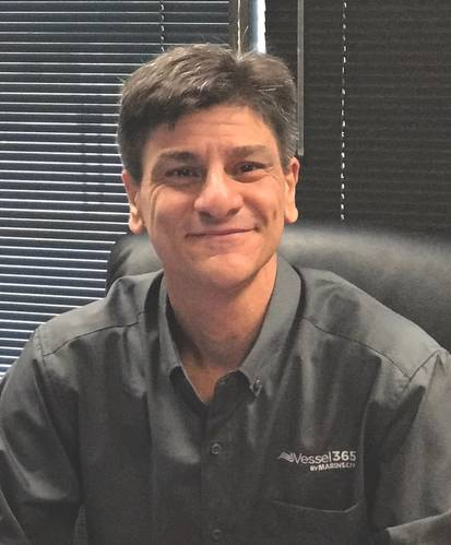 """""""Lloyd's was looking to complete their portfolio with a top-notch provider of electronic record keeping, and we wanted to tap into a major class society with a lot of experience in the inland market."""" - Rogerio Vieira, MarineCFO vice president of sales (Photo: MarineCFO)"""