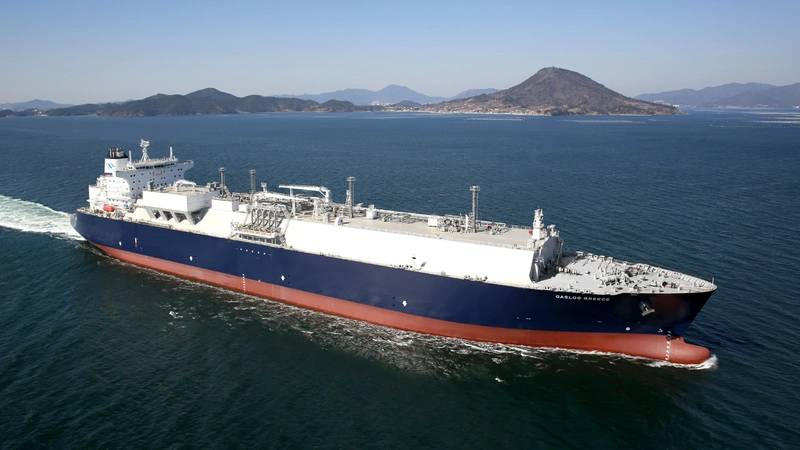LNG carrier GasLog Greece (Photo: Wärtsilä)