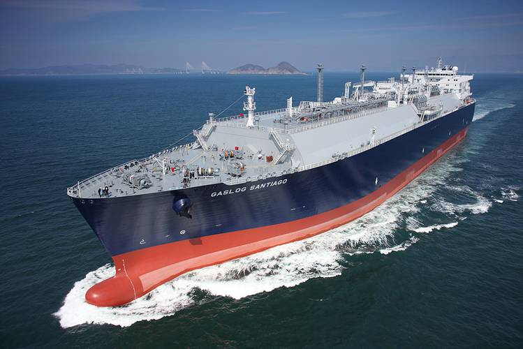 LNG carrier GasLog Santiago (Photo: Wärtsilä)