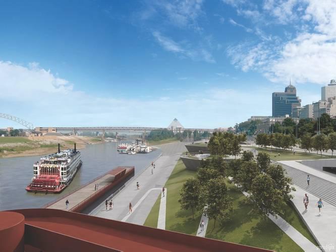 Image: Memphis' Riverfront Development Corp.