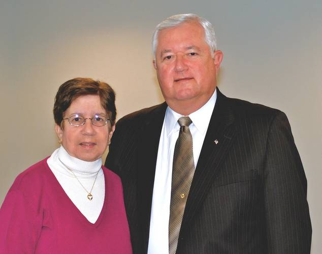 Marilyn Poggi and Walter Poggi (Photo: Retlif Testing Laboratories)