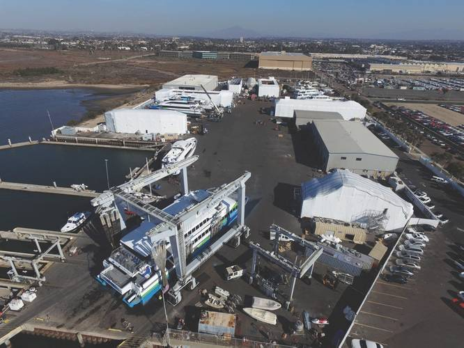 Marine Group Boat Works' yard in Chula Vista, Calif. (Photo: Marine Group Boat Works)