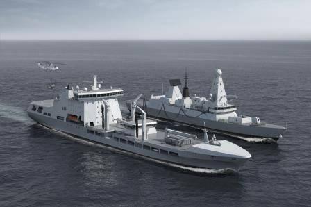 MARS Tanker C BMT Defence Services Ltd (Photo: BMT)