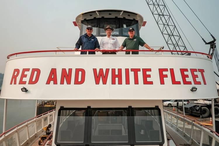 Matt Mullett, Tom Escher and Jeff Sokolik (Photo: All American Marine)
