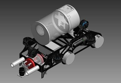 McGill Robotics AUV, image courtesy of McGill Robotics