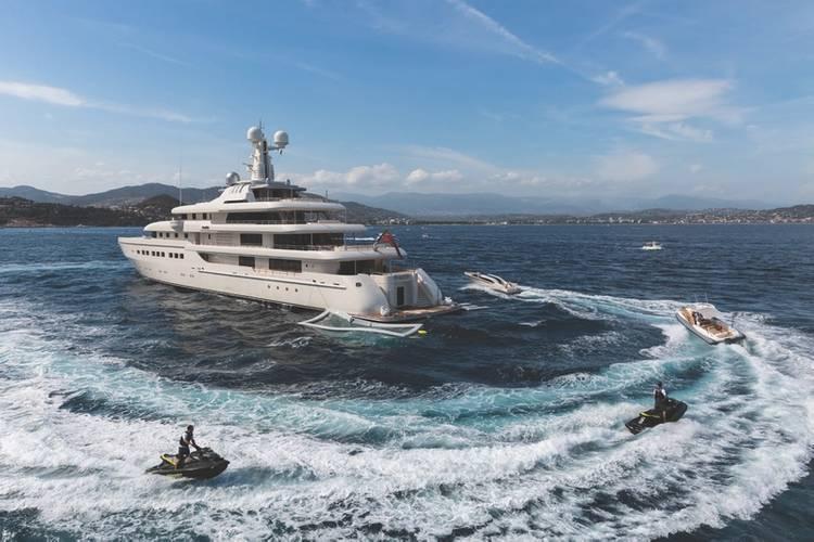 Megayacht ROMEA built by Abeking & Rasmussen (Photo: Abeking & Rasmussen)
