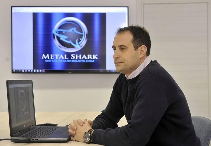 Metal Shark Croatia's Technical Manager Drazen Debelic.