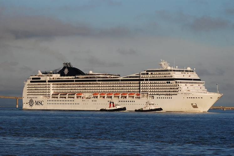 MSC Magnifica, which entered service in 2010, was built by STX for MSC (Photo: STX)