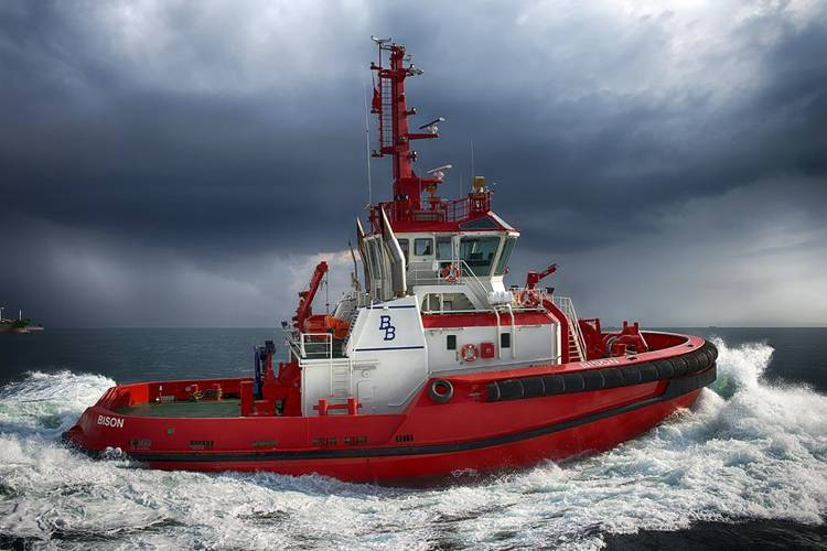 MT Bison. Image courtesy of Sanmar Marine