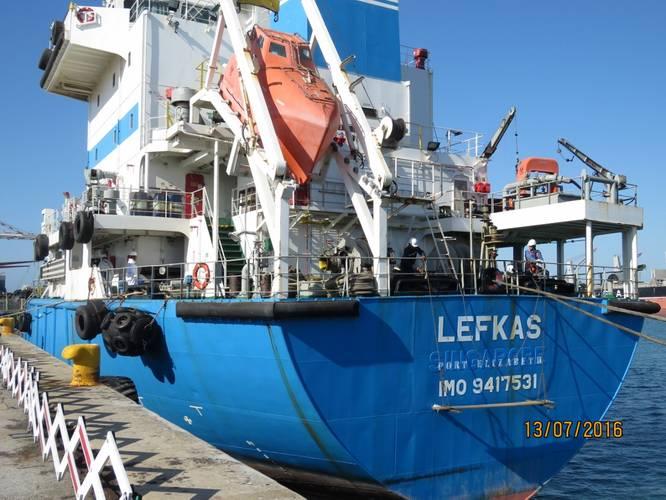 MT LEFKAS (Photo: Port of Port Elizabeth)