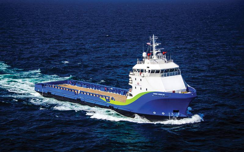MV Connor Bordelon built by Bordelon Marine is a Stingray 260 Class multipurpose PSVs. This vessel features WEKA Fernstrum Boxcoolers. (Photo: Bordelon)