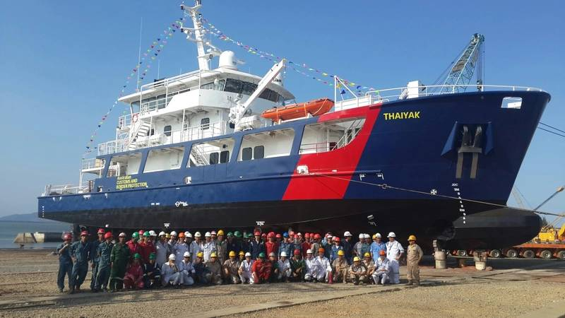 MV Thaiyak (Photo courtesy of Strategic Marine)