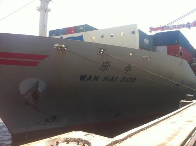 m.v. WANHAI 509